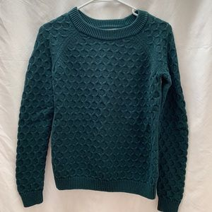 Teal Old Navy Knit Sweater